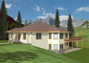 Inspiring House Plans For Sloping Lots In The Rear Photo by Melita Sloping Lot Home Plan 088d 0086 House Plans And More