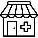 Clipart Pharmacy Icon Clinic Hospital Drug Svg