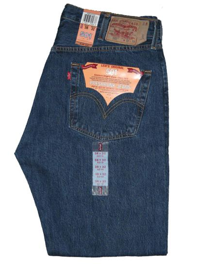 Levis 501 Jeans The Original  American Jeans Mens