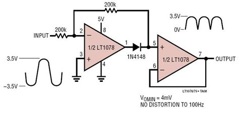 lt absolute  circuit full wave rectifier