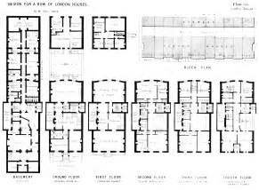 housing blueprints floor plans floor plans houses and housing housing of the middle classes