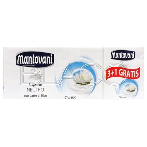 Sapone Mantovani by Mantovani Sapone Solido Neutro 4pz In Sapone Igiene Su