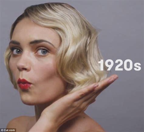 Cutcom video reveals 100 years of German beauty Daily