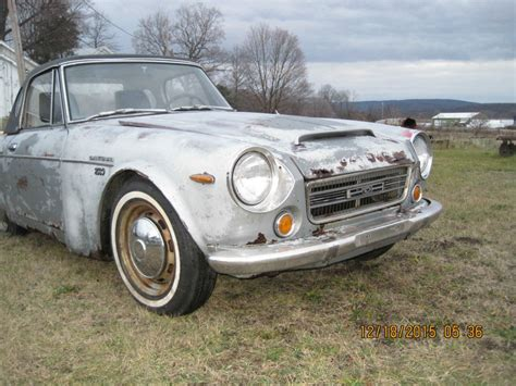 1969 Datsun Roadster For Sale by 1969 Datsun Roadster 2000 Fairlady Project For Sale