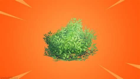 epic games  improvements  fortnites bush item