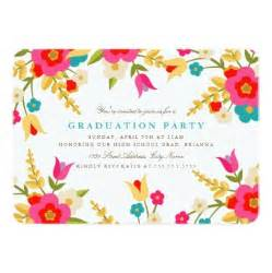 custom designed wedding invitations country flowers graduation party invitation card