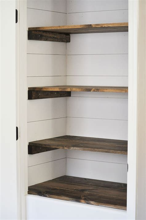 Shelves Ideas Diy by 15 Diy Shiplap And Planked Wall Tutorials You Should See