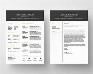 Free Resume PSD Template GraphicsFuel