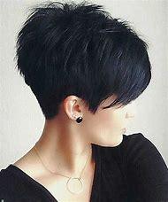 Short Hairstyle Long Pixie Haircut