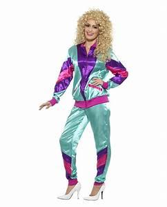 Kostüm Für 80er Jahre Mottoparty : 80er jahre trainingsanzug kost m 80s style karneval universe ~ Frokenaadalensverden.com Haus und Dekorationen