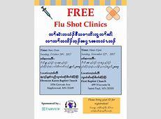 Free Flu Shot Clinics Karen Organization of Minnesota