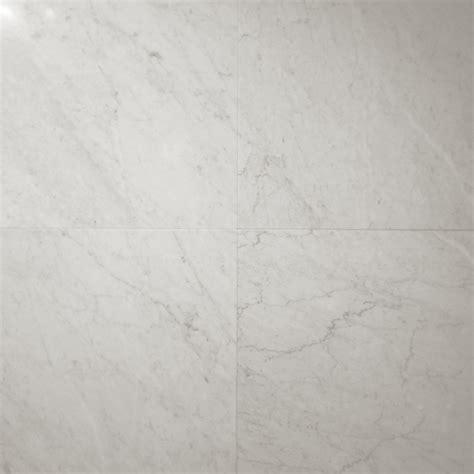 457x457x10mm bianco carrara honed italian marble tile