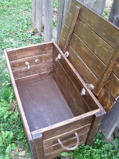 project lady wood storage chest