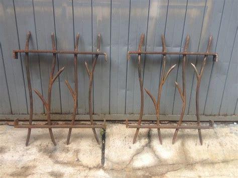 grille de defense style branche rouille idees grilles fenetres