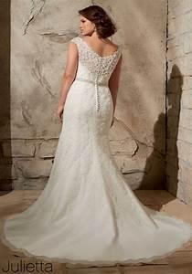 Plus size bridal designer julietta by mori lee on for Plus size wedding dress designers