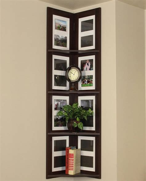 corner picture frames boring walls why not gather wall frames on the corner viral homes