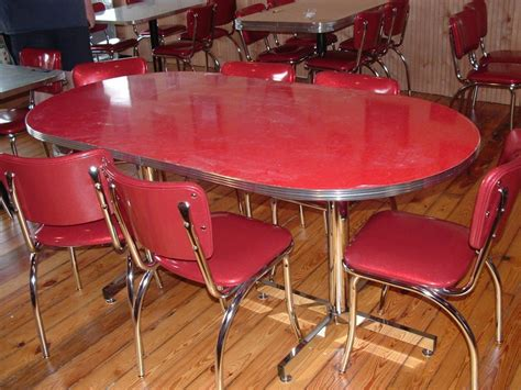 metal kitchen table chairs vintage metal kitchen table and chair unique vintage