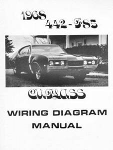 Oldsmobile 1968 F85  442  U0026 Cutlass Wiring Diagram
