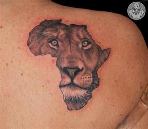 Tattoo Power Leao Africa