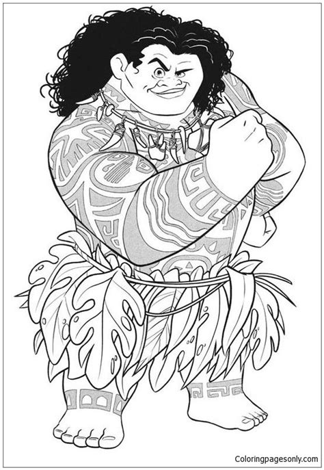 Kleurplaten Violetta Disney by From Moana Disney Coloring Page Moana Coloring