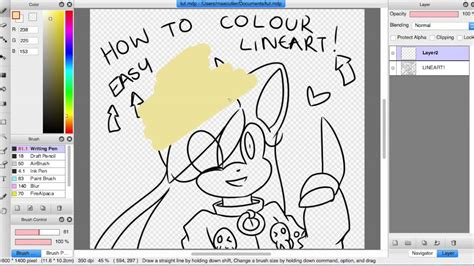 how to color kawaiimae s coloured lineart tutorial