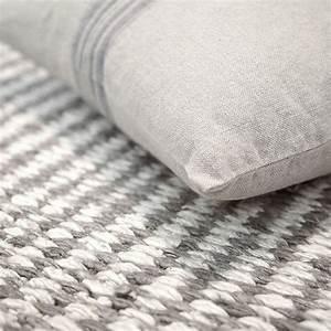 Tapis Blanc Et Gris : tapis down to earth moderne stone gris taupe et blanc 80x150 ~ Melissatoandfro.com Idées de Décoration