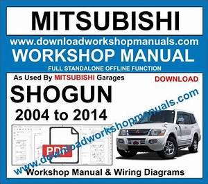 Mitsubishi Shogun 2004 To 2014 Workshop Repair Service