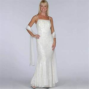 Sears ivory beaded evening dress 150 wedding dresses you for Sears dresses for weddings