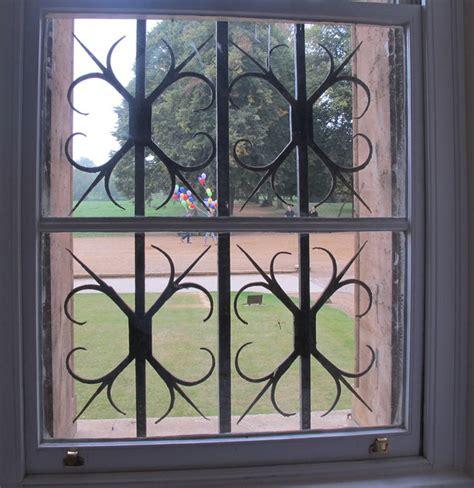 wrought iron window grille meadows  david hawgood geograph britain  ireland