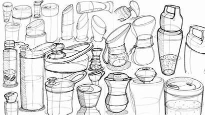Sketches Random Renders Industrial Project