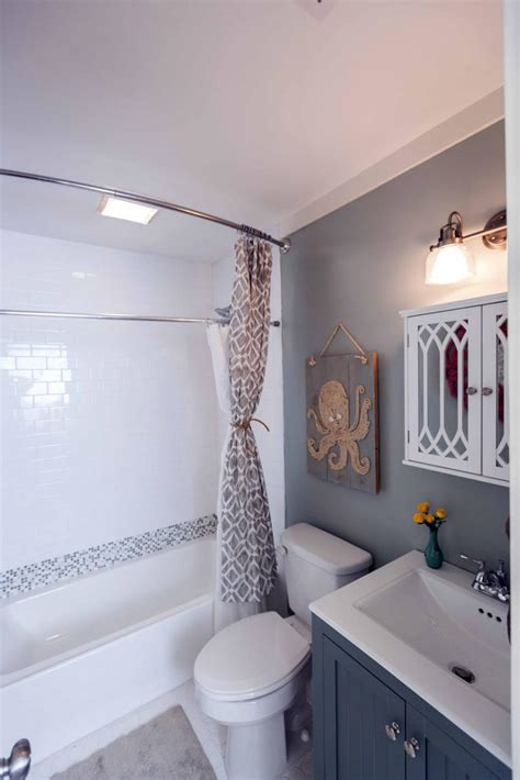 small bathroom makeovers ideas 20 small bathroom before and afters hgtv