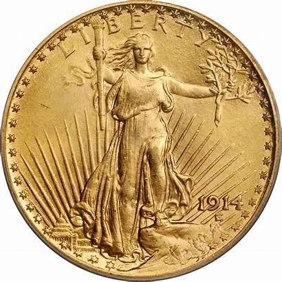 Gold Gaudens St 1914 Value Coins Dollars