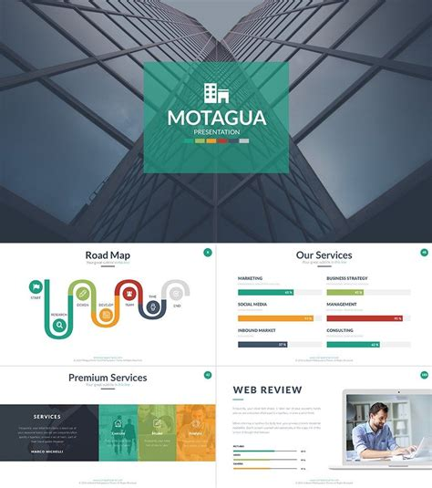 motagua  powerpoint template cool powerpoint