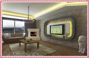 Drywall tv unit designs home decorating ideas