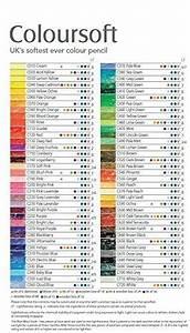 Derwent Colored Pencil Chart Amazon Com Derwent Colorsoft Pencils 4mm Core Metal Tin