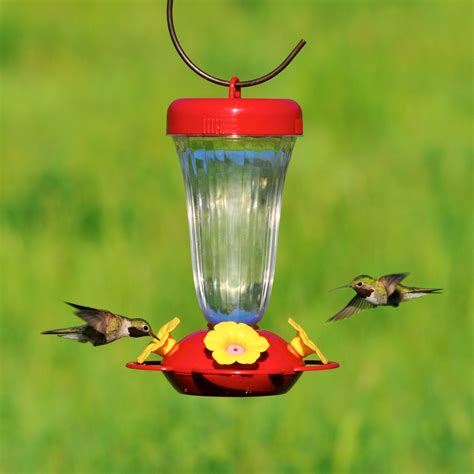 best hummingbird feeder pet 174 s finest yellow flower top fill plastic