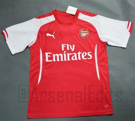 The Football Shirts Book The Connoisseur S Guide Photos Of Arsenal 39 S Shirt For 2014 15 Season Revealed