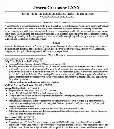 School Counselor Resume by Guidance Counselor Objectives Resume Objective Livecareer