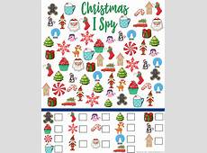 I Spy Pictures Printable Printable Pages