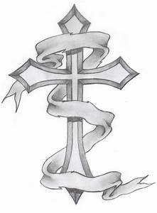 Classic Cross Tattoo by GLAX34 on DeviantArt