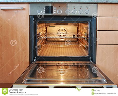 open oven royalty  stock  image