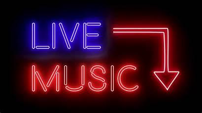 Entertainment Neon Lights Muziek Muziekavond Glowing 4k