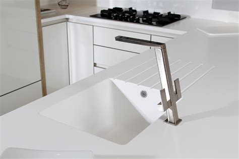 Big White Kitchen Sink by Kitchen Design Idea Seamless Kitchen Sinks Integrated
