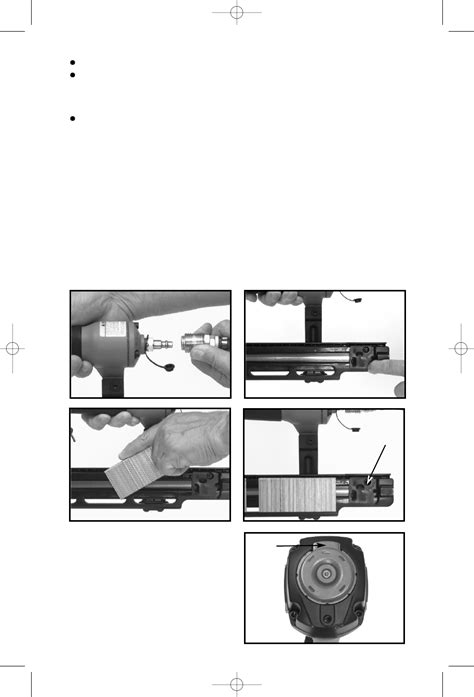Page 8 of Porter-Cable Staple Gun MS200 User Guide