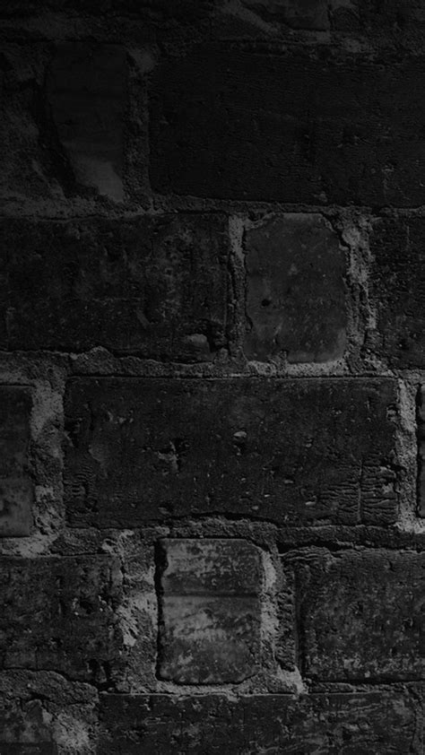 hd  wall bricks black night nokia lumia wallpapers