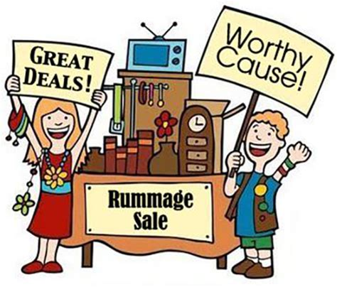 Youth Ministry Garage by Church Rummage Sale Mt Zion Lutheran Church