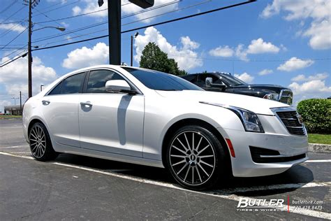 cadillac ats with 19in tsw chicane wheels exclusively from