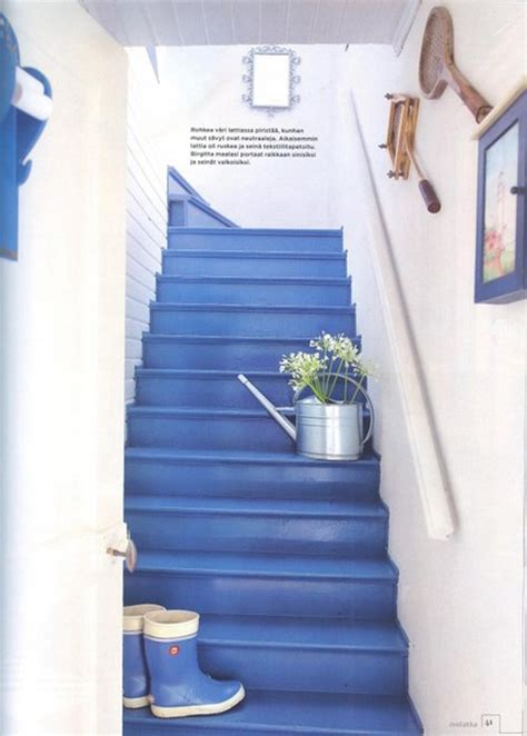 pretty painted stairs ideas home design  interior