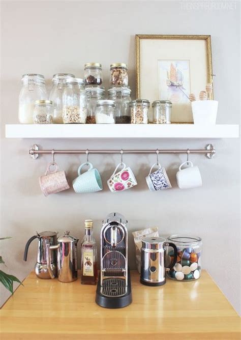 But you can apply, because this. 20 Coffee Station Ideas For Your Home Decor - Craftsonfire