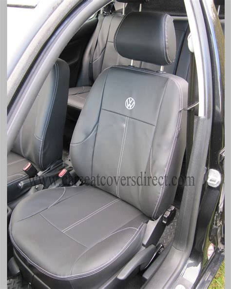 siege caddie volkswagen vw golf mk4 black seat covers car seat covers